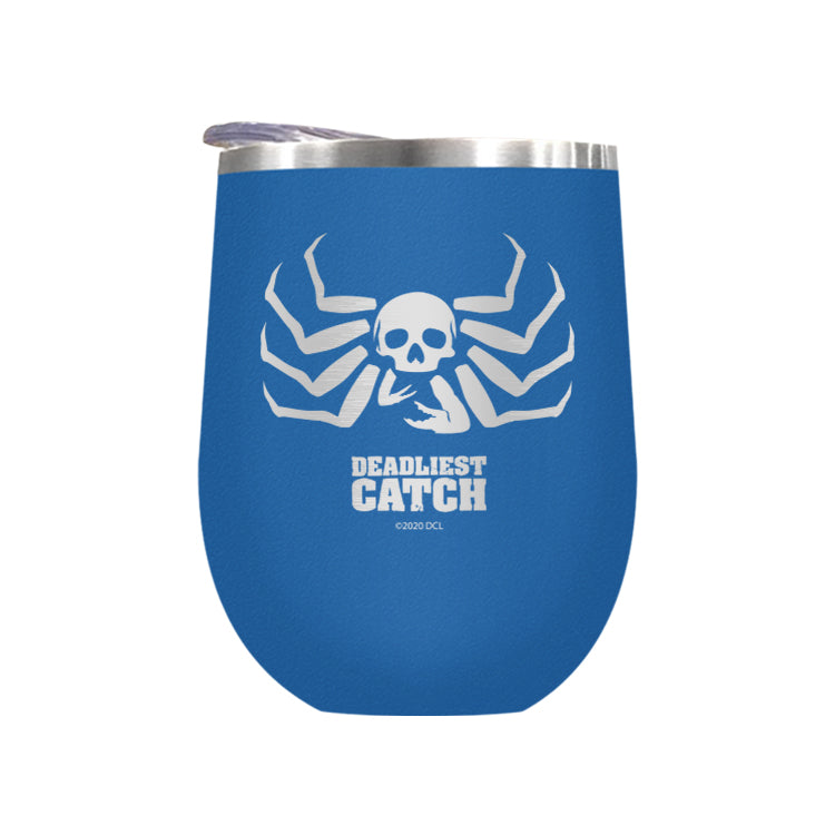 Deadliest Catch Crab Laser Etched Drinkware
