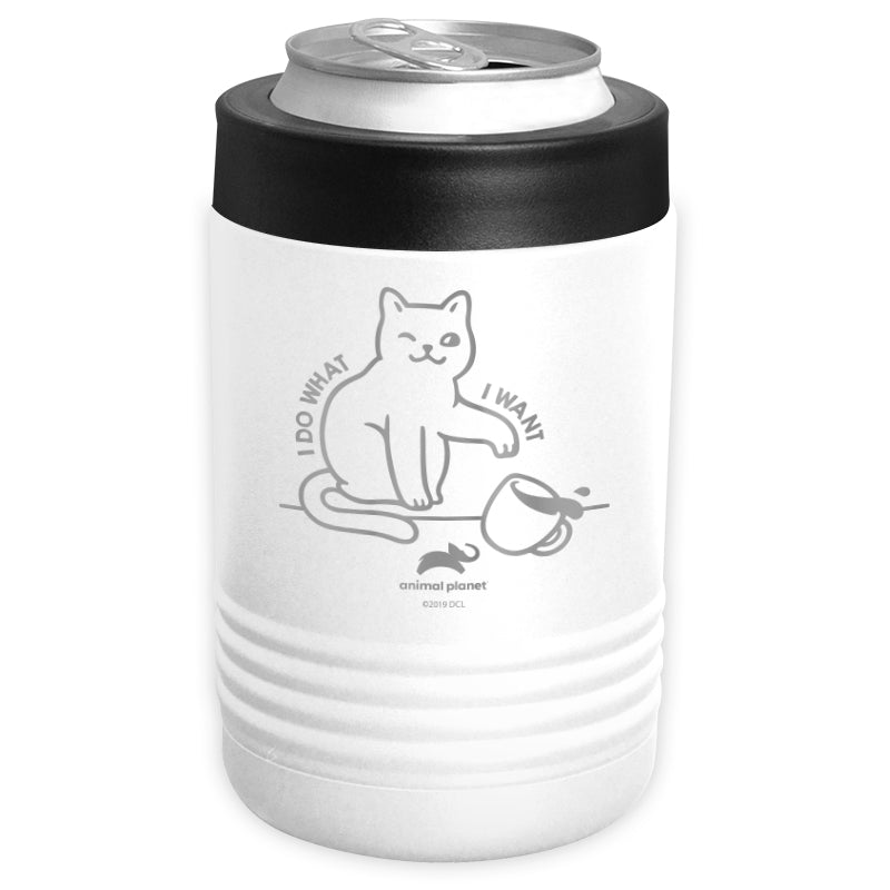Animal Planet - I Do What I Want Stainless Steel Beverage Holder