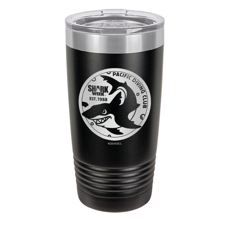 Pacific Diving Club Laser Etched Drinkware (1553306386531)
