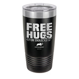 Free Hugs for Dogs Laser Etched Drinkware (3506465603683)