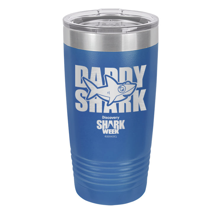 Daddy Shark Laser Etched Drinkware (3512537219171)