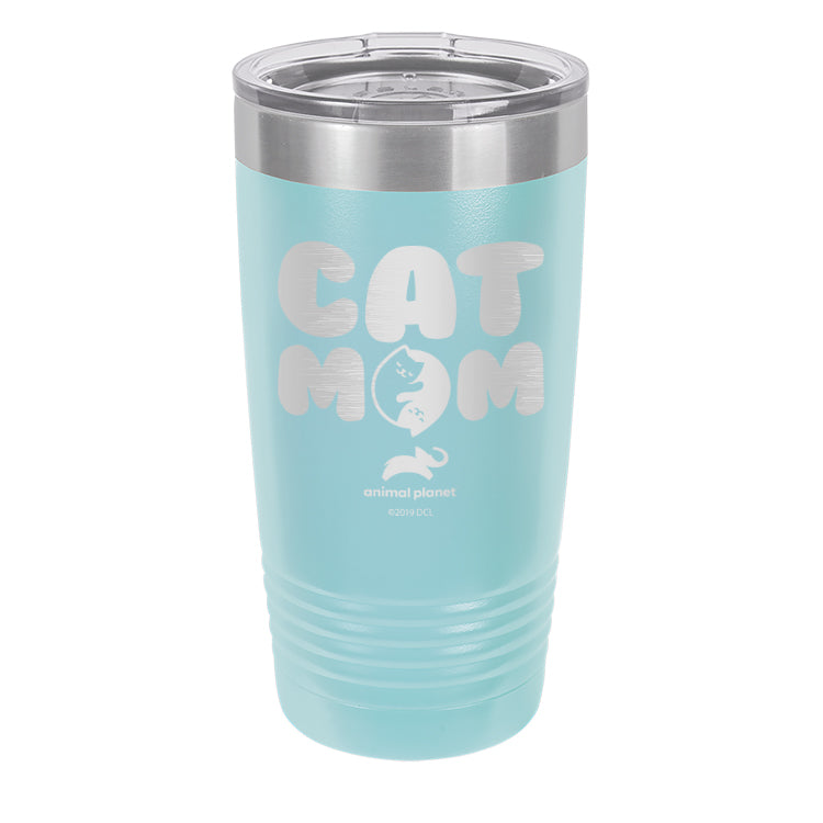 Cat Mom Laser Etched Drinkware (3512578244707)