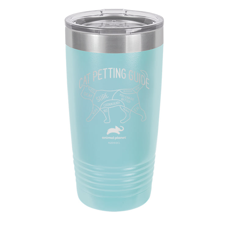 Cat Petting Guide Laser Etched Drinkware (3512582832227)