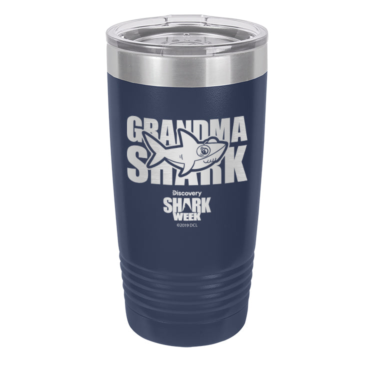 Grandma Shark Laser Etched Drinkware (3512543379555)