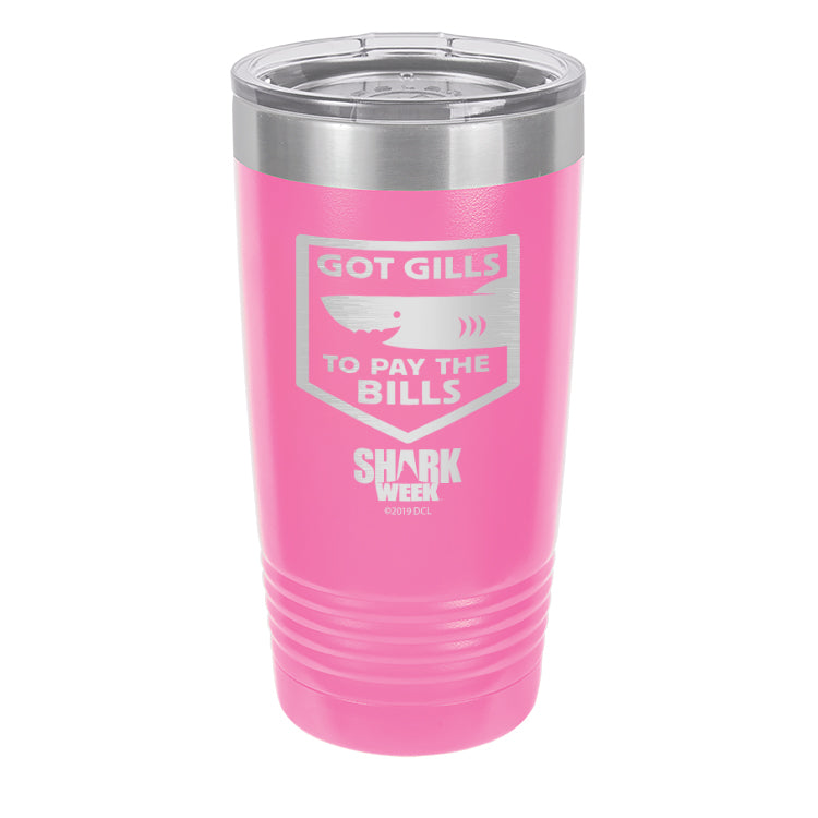 Got Gills to Pay the Bills Laser Etched Drinkware (1552135815267)