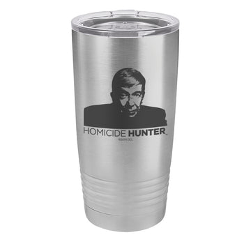 Lt Joe Kenda Homicide Hunter Laser Etched Drinkware (1552062873699)
