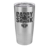Daddy Shark Laser Etched Drinkware