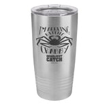 I'm Feeling a Little Crabby Laser Etched Drinkware