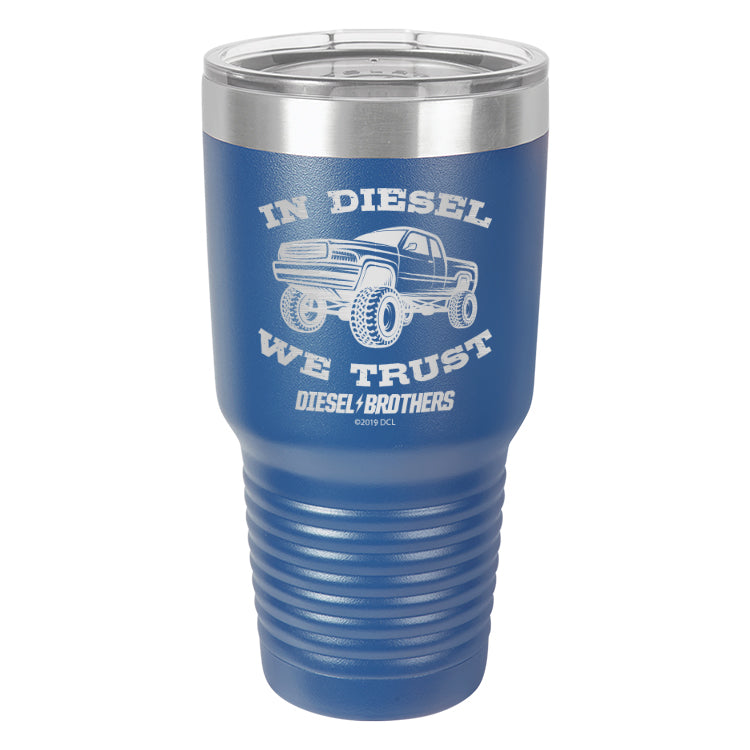 In Diesel We Trust Laser Etched Drinkware (3489125761123)