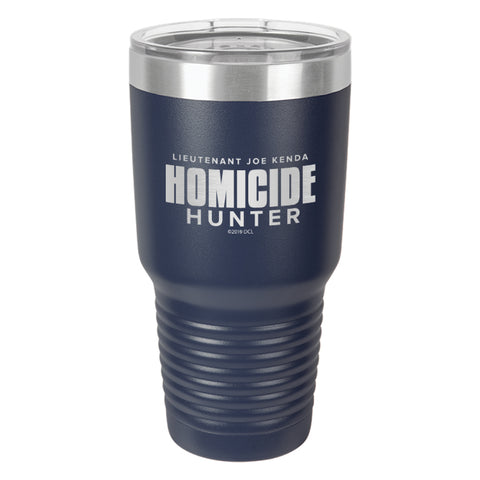 Homicide Hunter Laser Etched Drinkware
