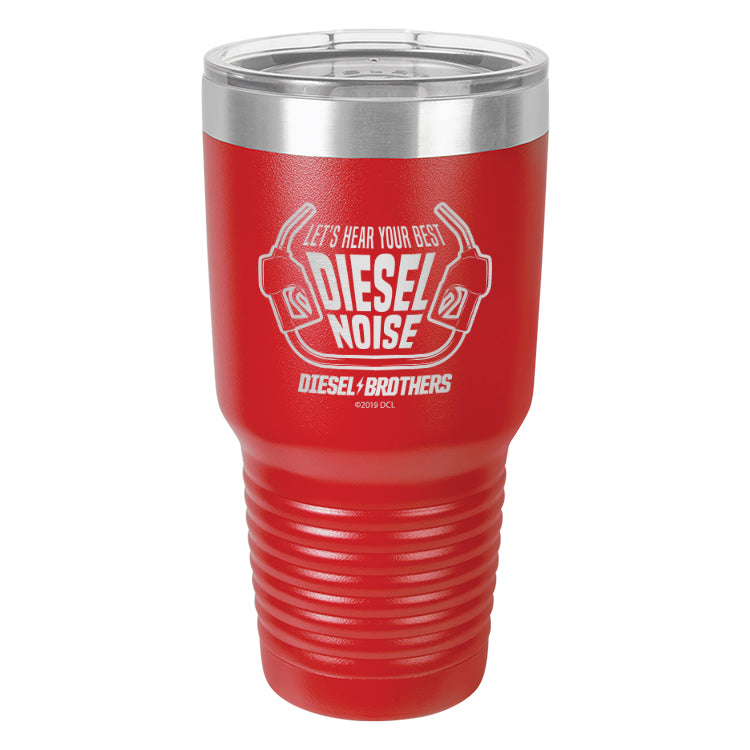 Let's Hear Your Best Diesel Noise Laser Etched Drinkware (3489136836707)