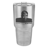 Lt Joe Kenda Homicide Hunter Laser Etched Drinkware