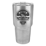 Never Fin-ished Laser Etched Drinkware