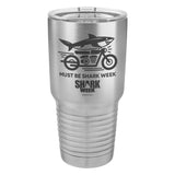 Must Be Shark Week Laser Etched Drinkware