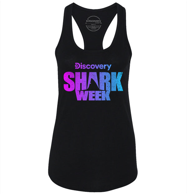 Shark Week Logo - Purple Gradient (3941707546723)