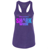 Shark Week Logo - Purple Gradient