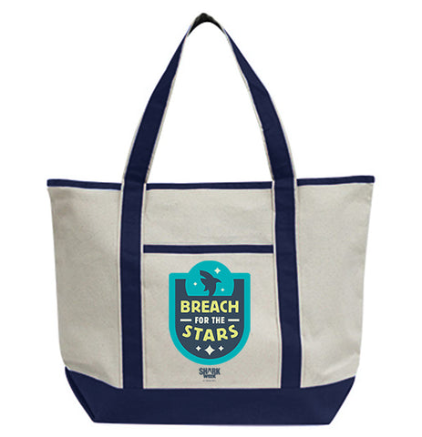Breach For The Stars Tote Bag