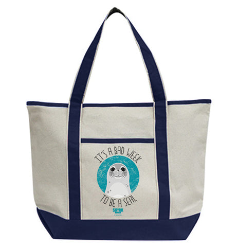 It's a Bad Week to be a Seal Tote Bag