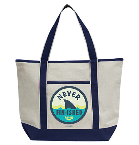 Never Fin-ished Tote Bag