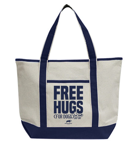 Free Hugs For Dogs Tote Bag