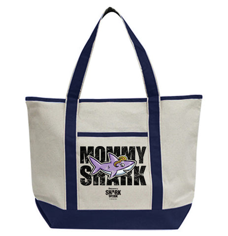Mommy Shark Tote Bag