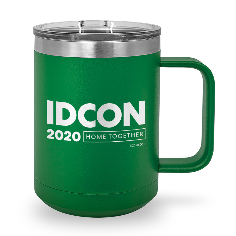 IDCON 2020 Laser Etched Stainless Steel Coffee Mug