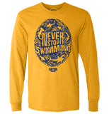 Never Stop Swimming Thumbprint