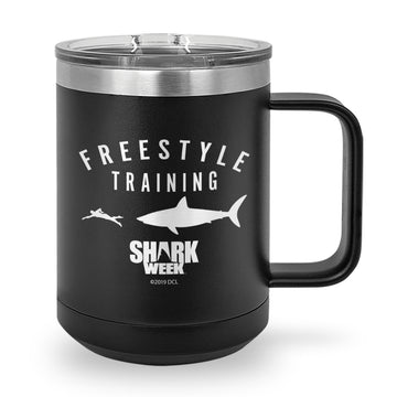 Freestyle Training Laser Etched Stainless Steel Coffee Mug