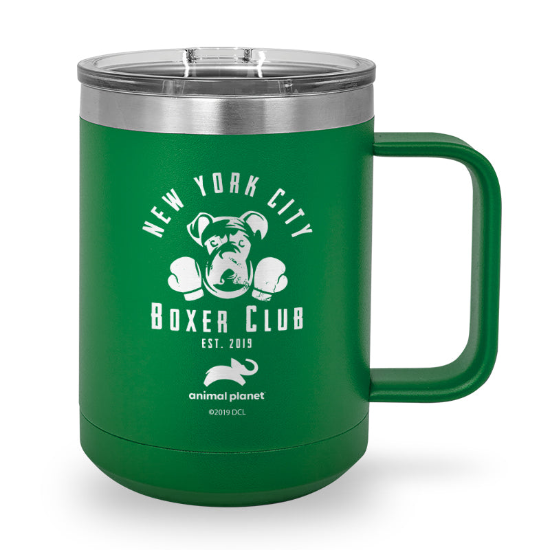 NYC Boxer Club Laser Etched Stainless Steel Coffee Mug
