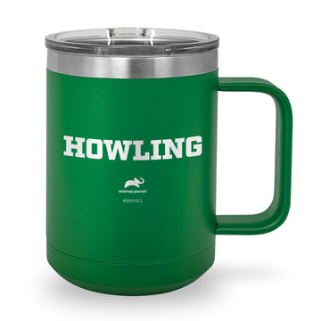 Howling Laser Etched Stainless Steel Coffee Mug