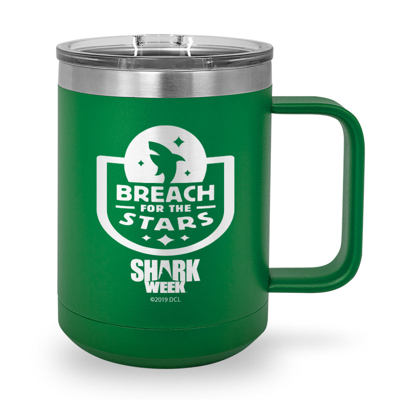 Breach for the Stars Laser Etched Stainless Steel Coffee Mug