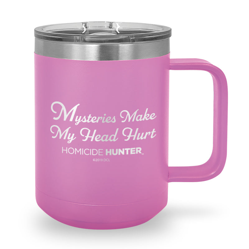 Mysteries Laser Etched Stainless Steel Coffee Mug