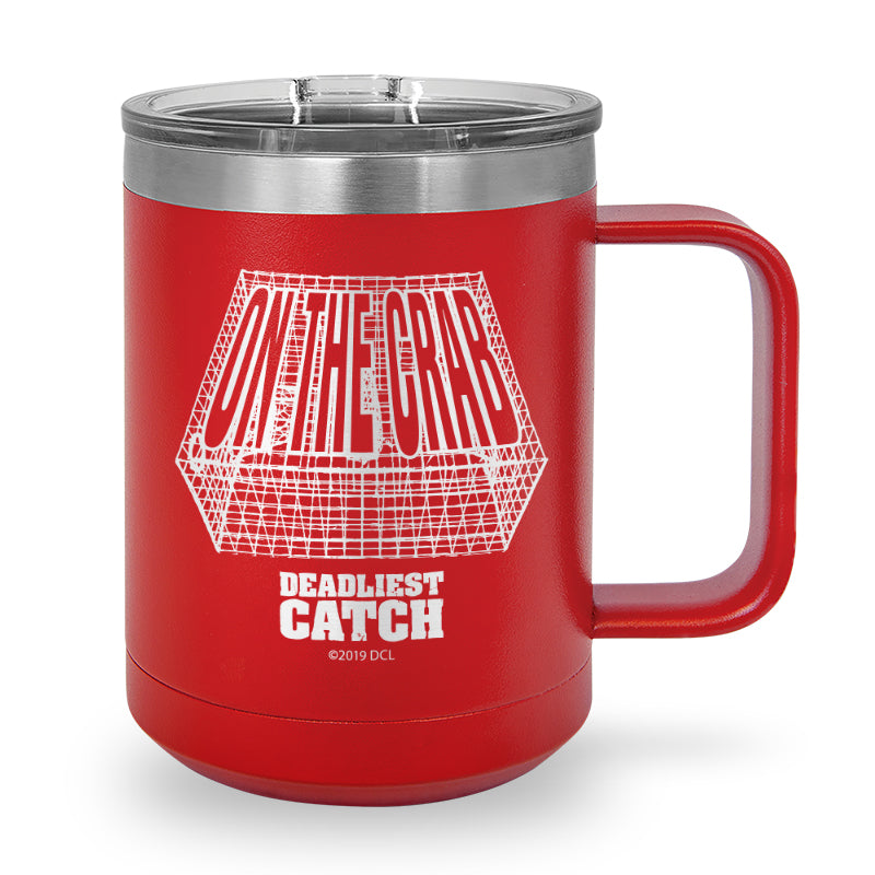 On The Crab Laser Etched Coffee Mug