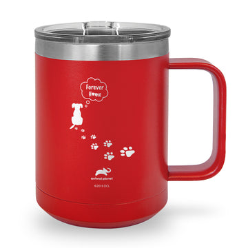 Forever Home Laser Etched Stainless Steel Coffee Mug
