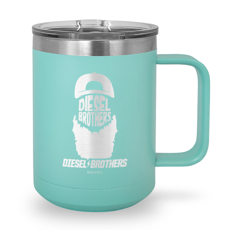 DB Beard Laser Etched Stainless Steel Coffee Mug