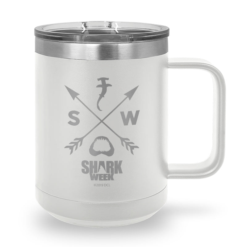 Insignia Laser Etched Stainless Steel Coffee Mug