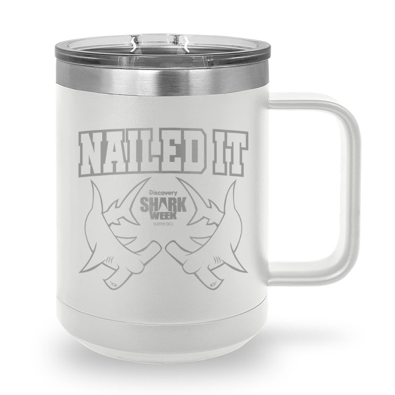 Nailed It Laser Etched Stainless Steel Coffee Mug