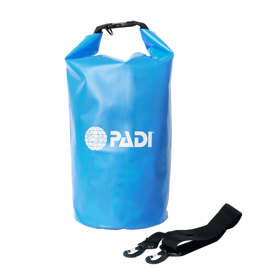 PADI 15L Dry Bag - Royal Blue