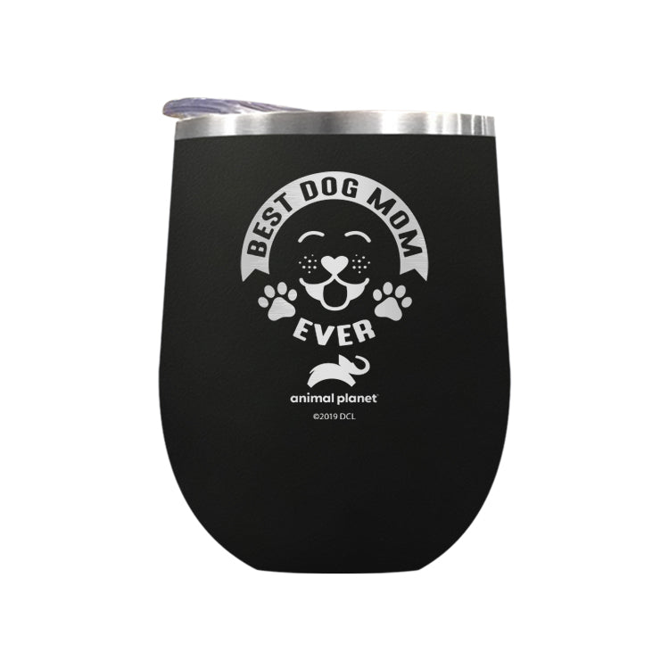 Best Dog Mom Ever Laser Etched Drinkware (3506312642659)