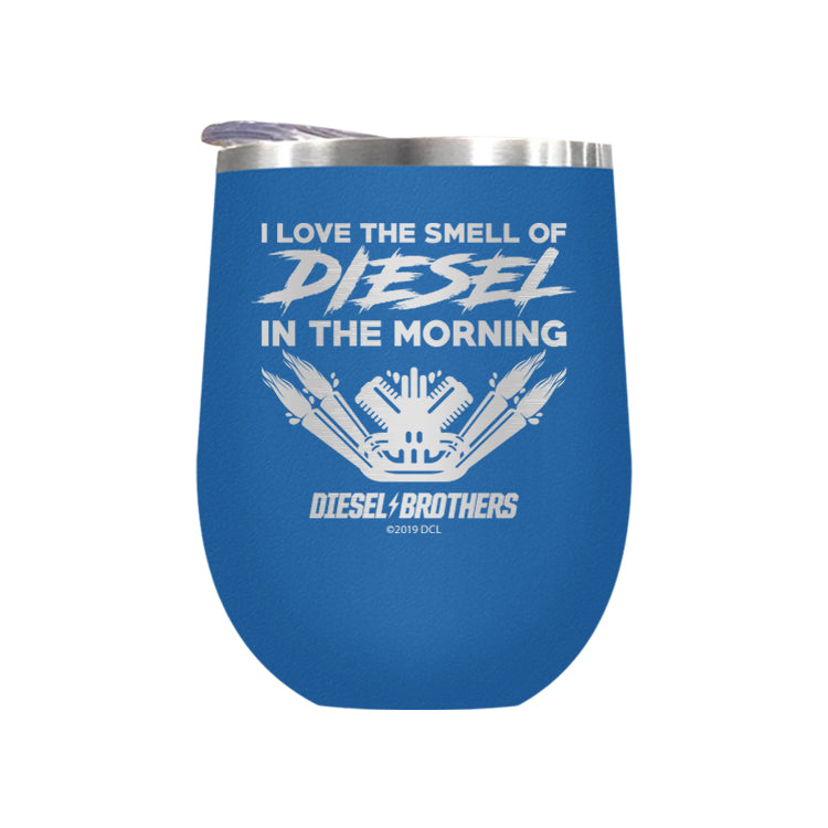 I Love The Smell Of Diesel In The Morning Laser Etched Drinkware (3489164853347)