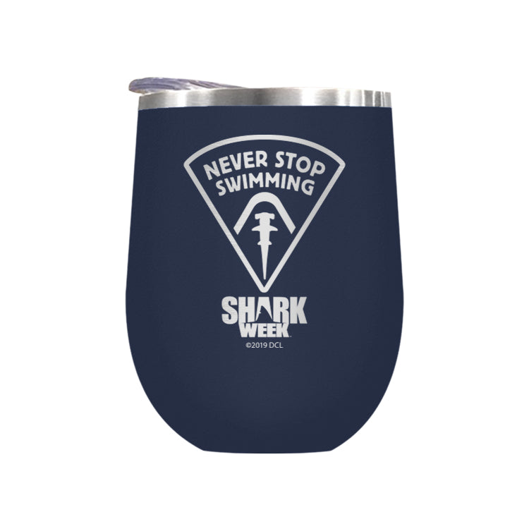 Never Stop Swimming Laser Etched Drinkware (1553295704163)