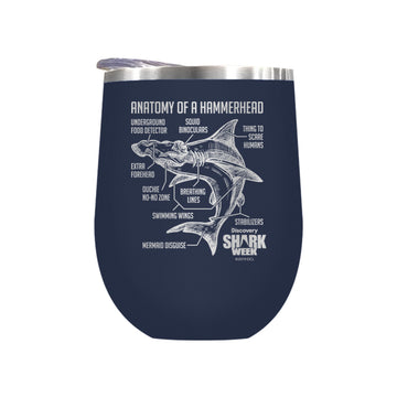 Anatomy of a Hammerhead Laser Etched Drinkware (3512520802403)