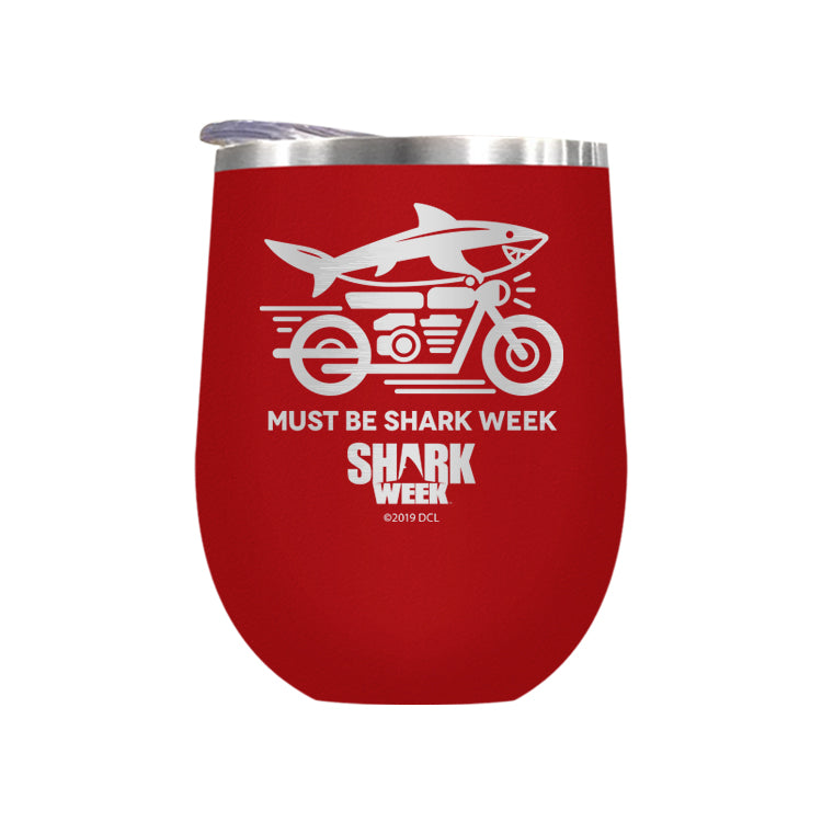 Must Be Shark Week Laser Etched Drinkware (1553246814307)