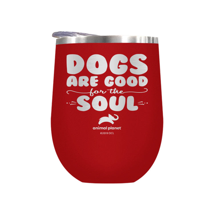 Dogs Are Good For The Soul Laser Etched Drinkware (3506446631011)