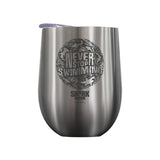 Never Stop Swimming Thumbprint Laser Etched Drinkware