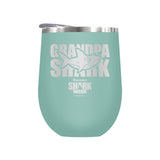 Grandpa Shark Laser Etched Drinkware