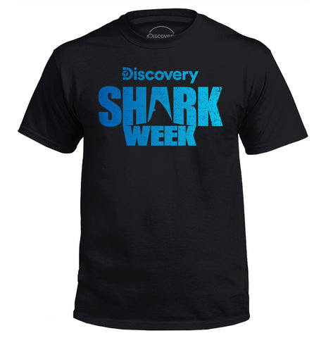 Shark Week Logo - Blue Gradient