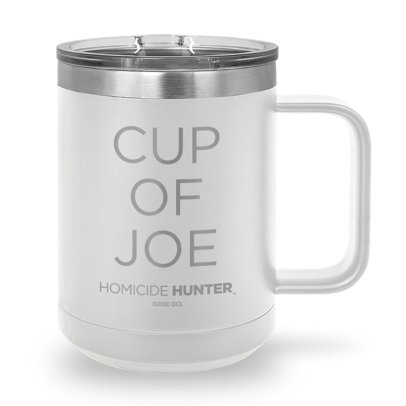 Cup of Joe Laser Etched Coffee Mug