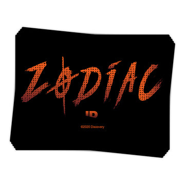 Zodiac Cipher Insignia - Sticker