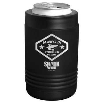Shark Week - Always in Striking Distance Stainless Steel Beverage Holder